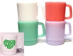 1色印刷低単価オリジナルマグカップ
