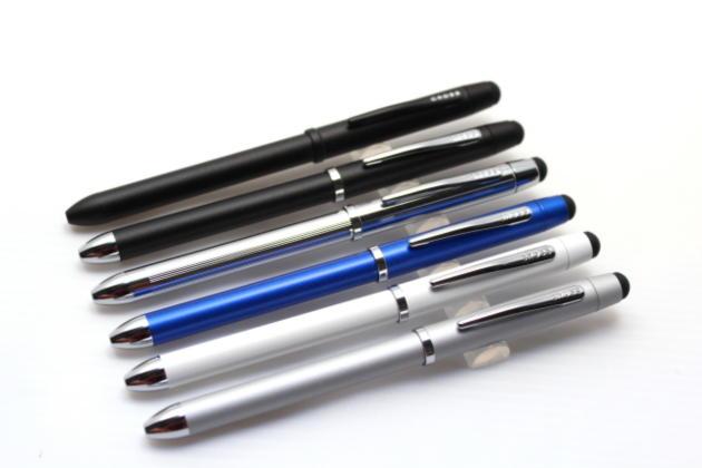 クロスボールペン+シャープにスタイラス機能付きTech3