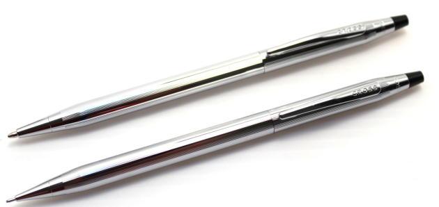 クロスボールペン +ペンシル、クラッシックセンチュリークローム 3502