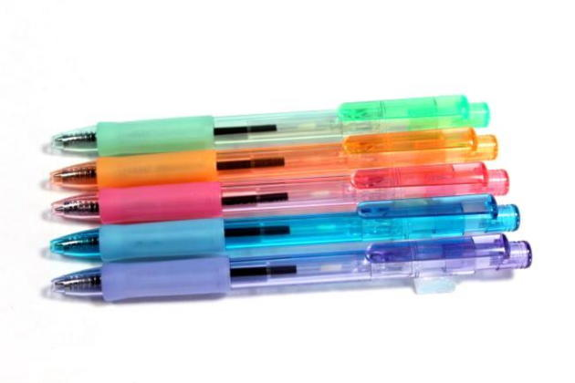 フェアラインカラークリアボールペン