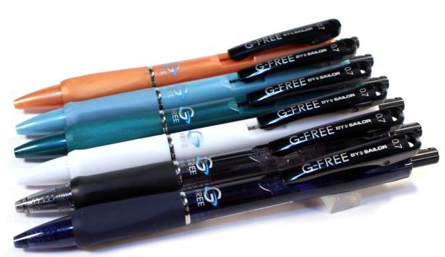 セーラーG-FREE ジーフリー 低粘度ボールペン